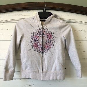 Lucky Brand hoodie with faux fur lining